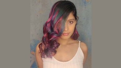 Actress Pranati Rai Prakash's striking and unique hair transformation is sure to make your day colorful