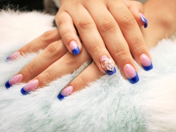 Simple Nail Art Design Step By Process For Creating Ic