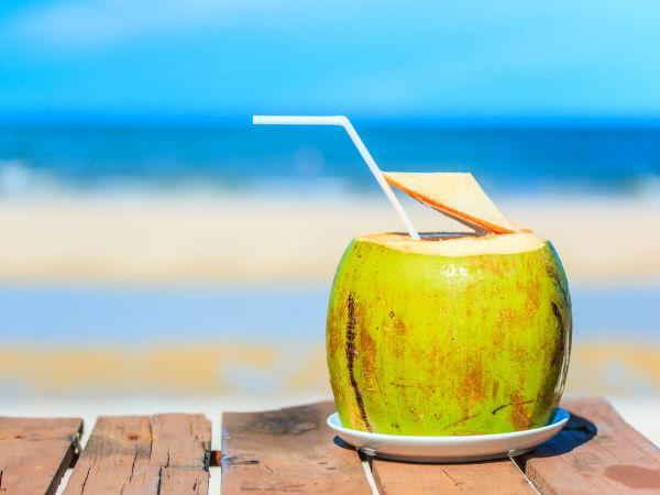 नारियल पानी पीएं