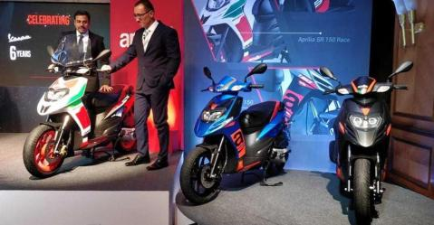 2018 Aprilia Sr150 India Featured