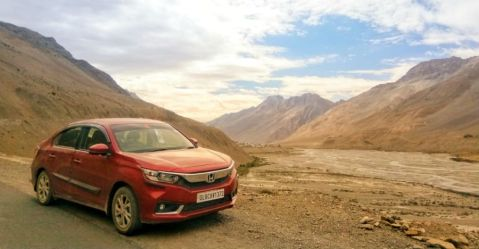 Honda Amaze Spiti Featured