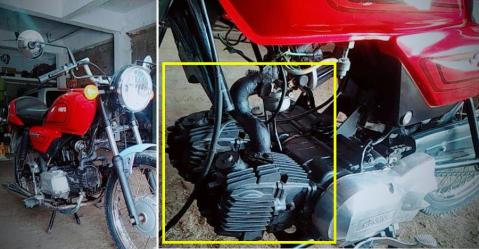 Modified Twin Cylinder Splendor Featured