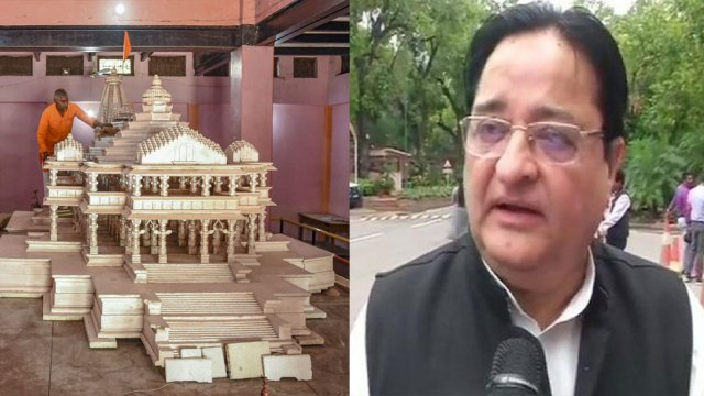 सपा सांसद ST Hasan का विवादित बयान, बोले- 'राम मंदिर का चंदा जमा करने वालों पर होगा पथराव'