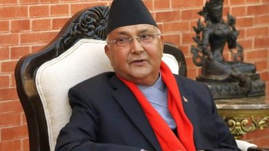 K.P Sharma Oli ने ली प्रधानमंत्री पद की शपथ, तीसरी बार बने नेपाल के PM