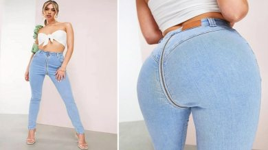 British fashion company is selling bum zip jeans, people have gone crazy|  British company launched Bum Zip Jeans in the name of fashion, people targeted on social media