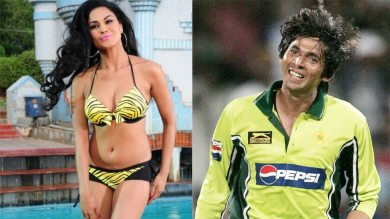 Actress Veena Malik liked this cricketer's massage, told- expert in the art of massaging
