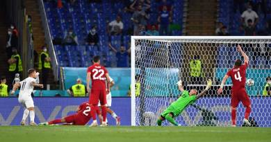 Euro Cup Football: Italy starts with a win, tramples Turkey 3-0
