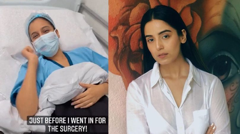 Bigg Boss 12 Ishqbaaaz Fame Actress Srishty Rode Shares Throwback Video From Hospital Before Undergoing Surgery    This Bigg Boss fame actress Srishty Rode is admitted in the hospital, shared the video before the surgery