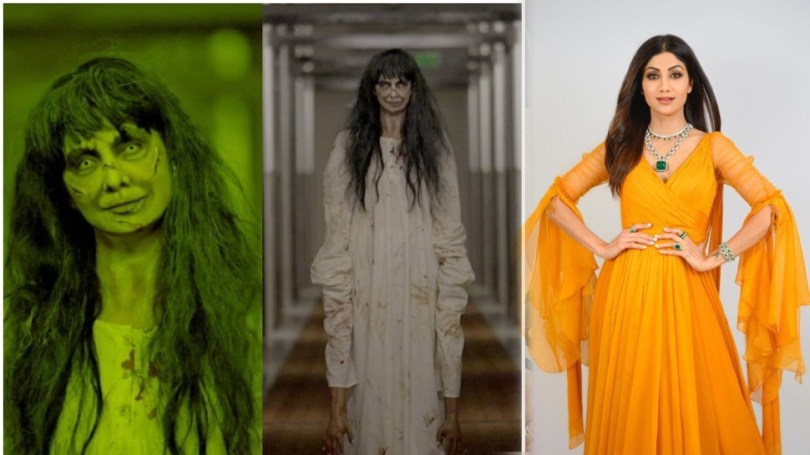 Shilpa Shetty transformation into ghost for Super dancer 4 Raj Kundra shocked to see photos |  Wouldn't have imagined such a form of Shilpa Shetty, will tremble to see