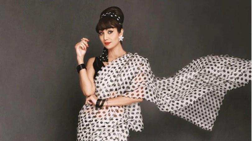 Shilpa recreates a classic look
