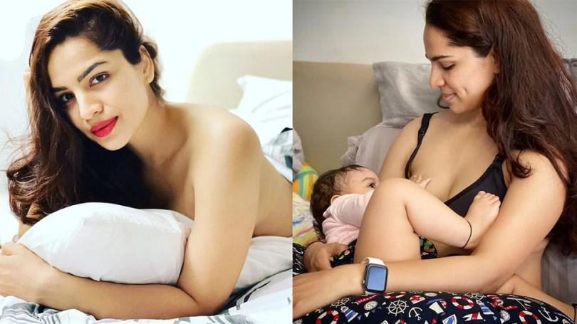 Kumkum Bhagya actress Shikha Singh goes Topless after sharing Breastfeeding Photo This is How Fans Reacted    Shikha Singh of Kumkum Bhagya went topless, trolled for sharing breastfeeding photo