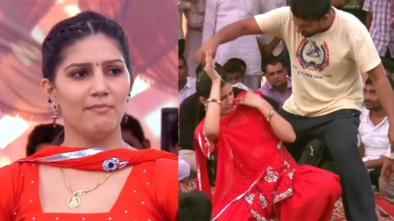 Boy Misbehaved with Sapna Choudhary in Live Dance Event and This is How Audience Reacted |  This boy started misbehaving with Sapna Choudhary in LIVE event, the celebrity singer got furious