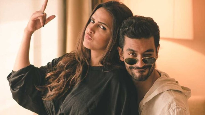 Neha Dhupia Is Pregnant For Second Time, shOwed Her Baby Bump on Instagram |  Neha Dhupia is going to become a mother for the second time, shows her baby bump in the photo