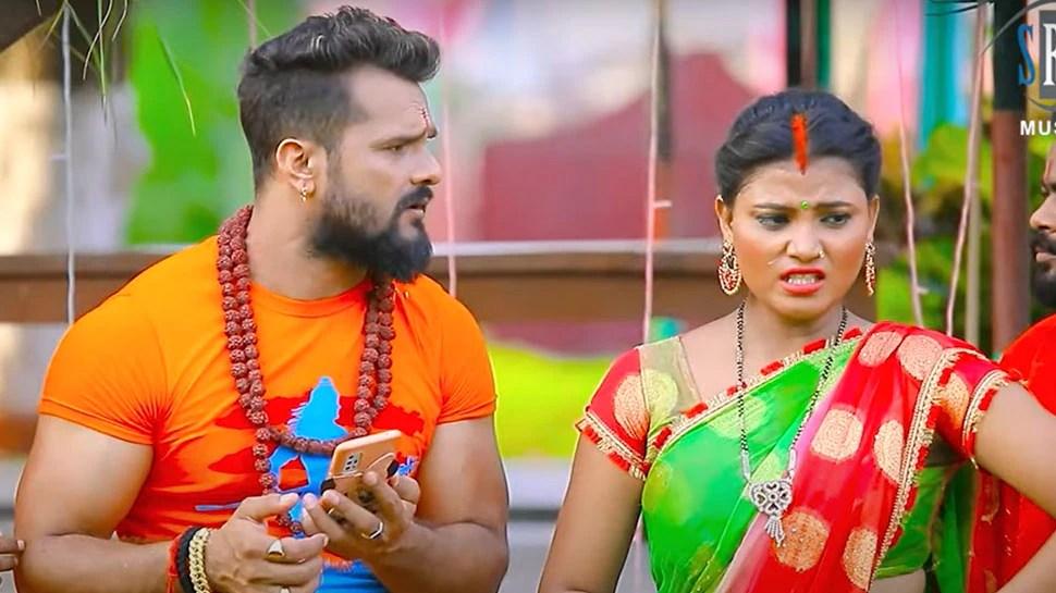 Balam Reel Bana Lena Bhojpuri Song Khesari Lal Yadav Dance Number Rocking on YouTube |  Khesari Lal Yadav made a tremendous dance number with the help of Shiv Bhakti, the song is going viral