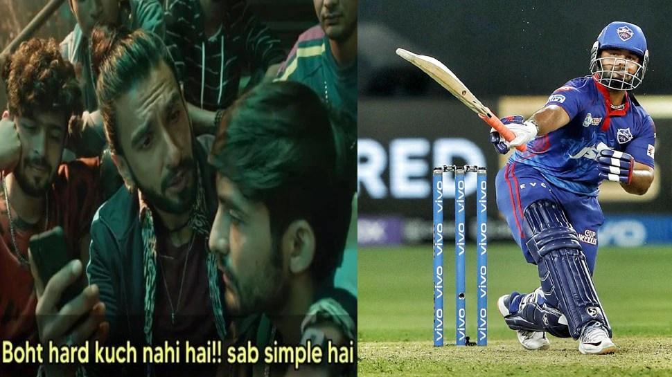 IPL 2021: Rishabh Pant hits One Hand Six on Shardul Thakur Full toss, Fans Said, Very Hard, CSK vs DC    Rishabh Pant hit a great six with one hand, fans said – 'Very hard'