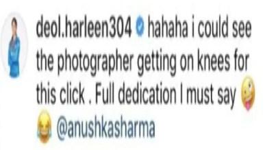 Harleen Deol Revealed, Virat Kohli Was Sitting On His Knees For Anushka Sharma