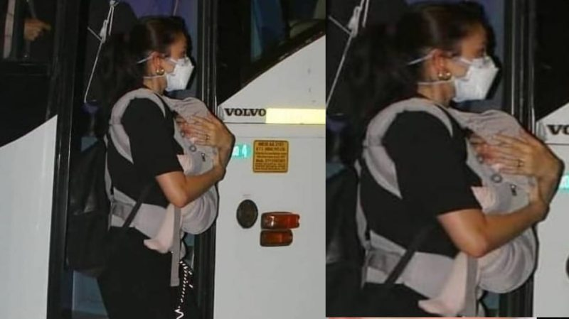 The first photo of Virat Kohli and Anushka Sharma's daughter's face surfaced, Vamika is just like her father