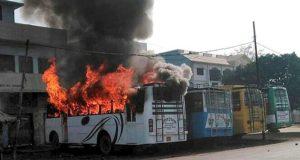 कासगंज: धार्मिक स्थल का दरवाजा जलाया गया, फिर से दंगे भड़काने की कोशिश, जाँच शुरू