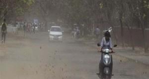 मौसम विभाग ने आज और कल पश्चिमी यूपी में धूल भरी आंधी आने की सम्भावना जताई