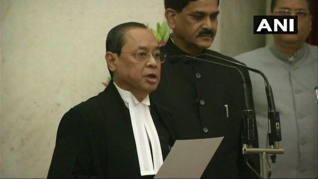 सुप्रीम कोर्ट के 46वें मुख्य न्यायाधीश बने जस्टिस राजन गोगोई