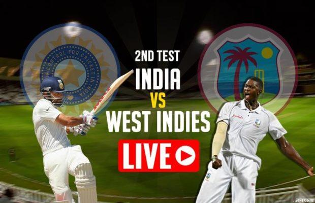 भारत vs वेस्टइंडीज टेस्ट मैच लाइव स्कोर अपडेट: वेस्टइंडीज के 5 विकेट गिरे