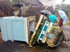 तमिलनाडु के तटीय इलाकों में चक्रवाती तूफान 'गाजा' का प्रकोप, अब तक 11 लोगों की मौत