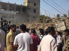कर्नाटक के धारवाड़ में निर्माणाधीन इमारत गिरने से 1 की मौत, कई घायल