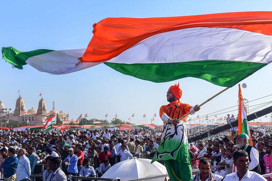 Bharat Bachao Rally Live Updates: दिल्ली के रामलीला मैदान में आयोजित हुई कांग्रेस की 'भारत बचाओं रैली'
