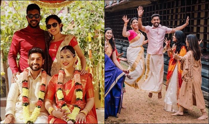 क्रिकेटर करुण नायर ने गर्लफ्रेंड सनाया टंकरीवाला के साथ रचाई शादी देखे Photo, Video