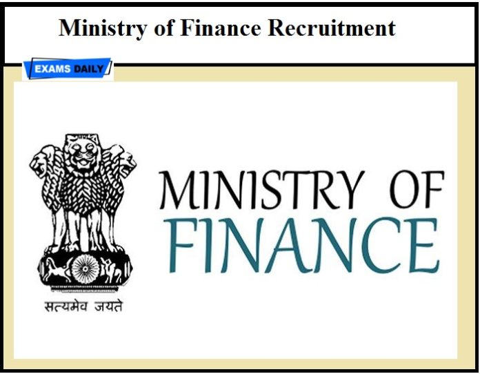 Ministry of Finance Recruitment 2020 – Last Date to Apply for 6000+ Vacancies