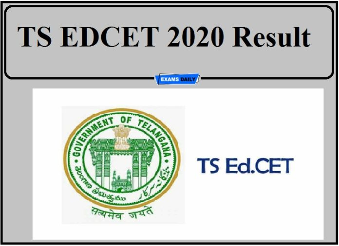TS EDCET 2020 Result Out- Download Rank Card Now!!!