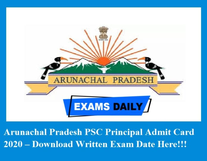 APPSC Principal Admit Card 2020 – Download Written Exam Date Here!!!