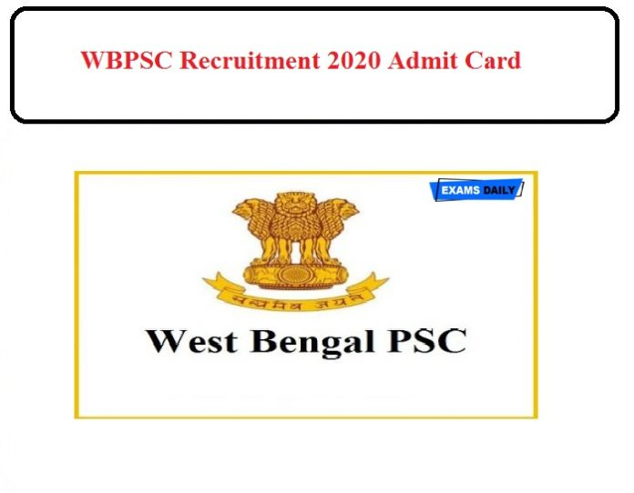 PSCWB Ward Master Recruitment 2020