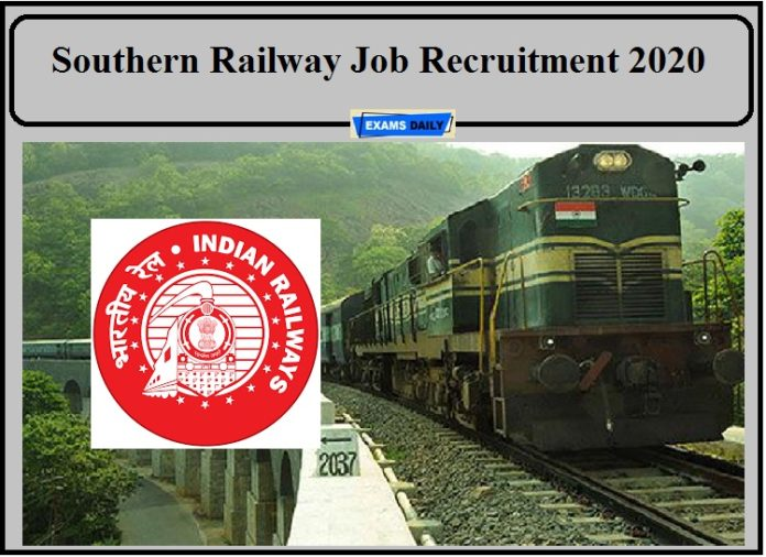 Southern Railway Job Recruitment 2020- Apply for Doctors and Attendant Post!!!