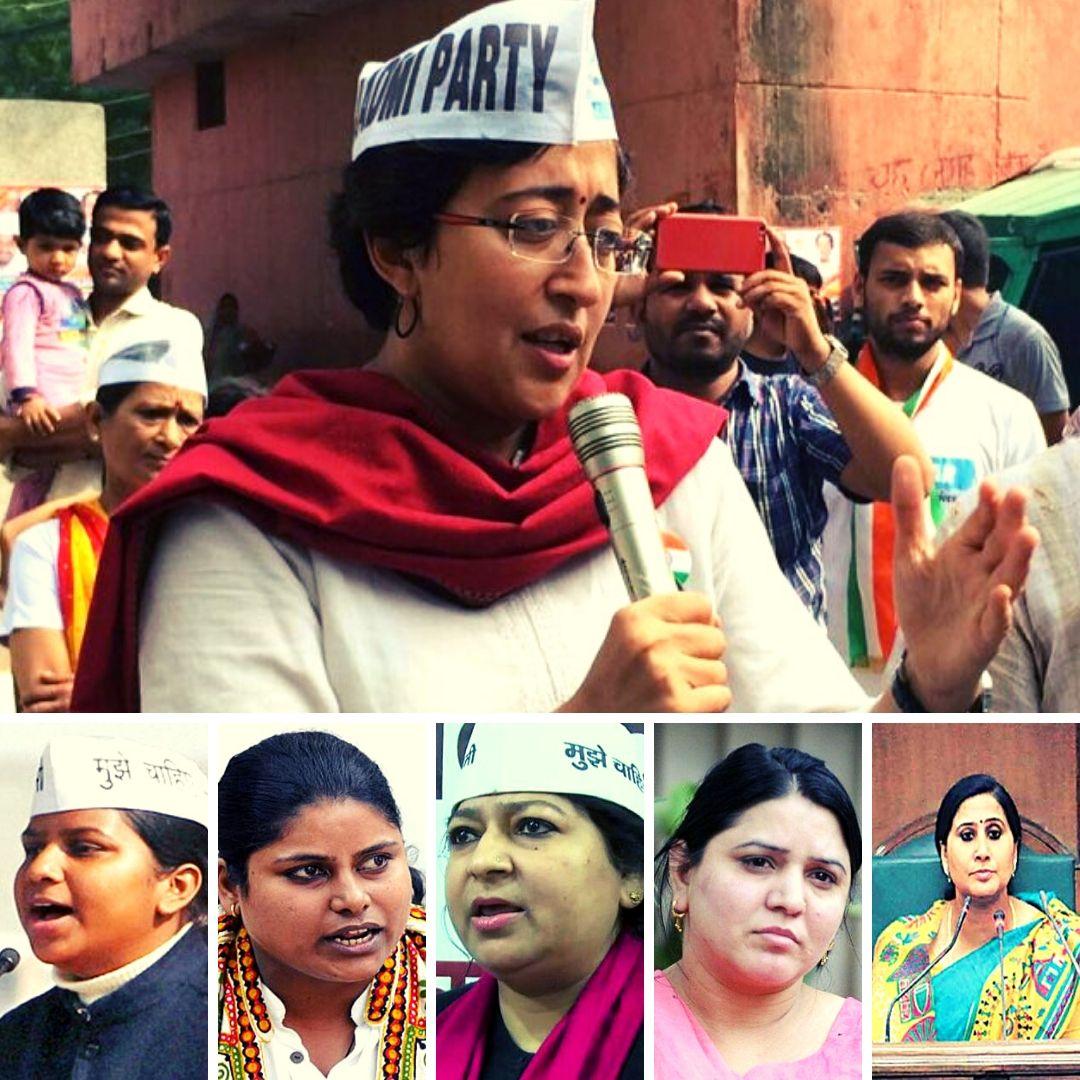 AAP से चुनावी मैदान में होंगी ये 8 महिलाएं