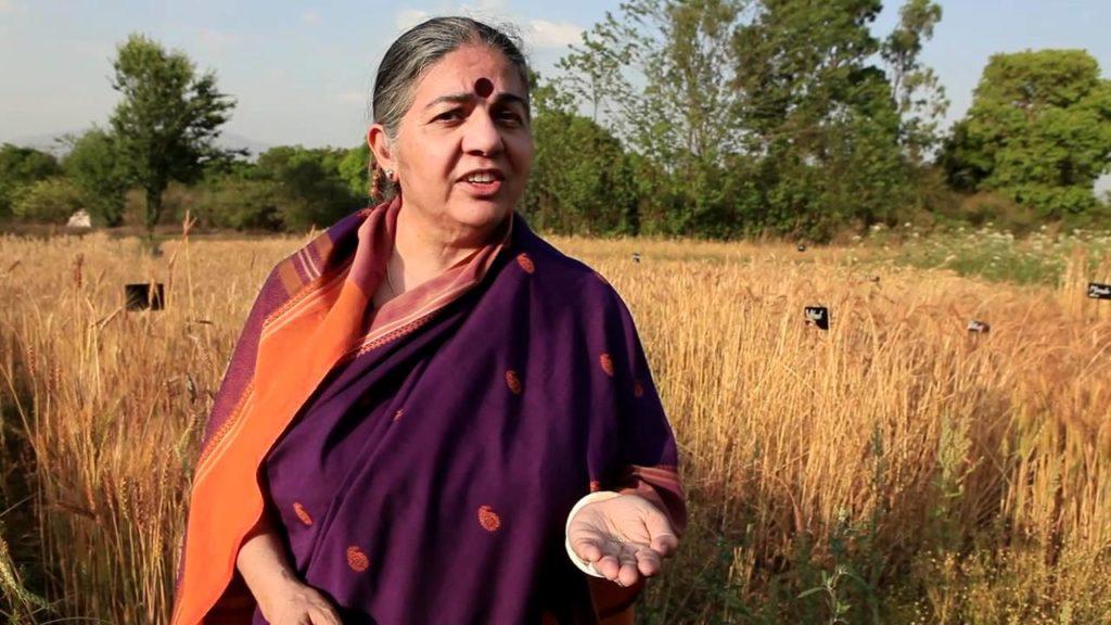 वंदना शिवा : जैविक खेती से सतत विकास की 'अगुवा'