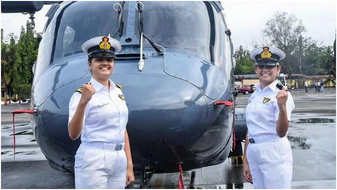 सब लेफ्टिनेंट कुमुदिनी त्यागी और सब लेफ्टिनेंट रीति सिंह बनी भारतीय नौसेना के युद्धक पोतों का हिस्सा