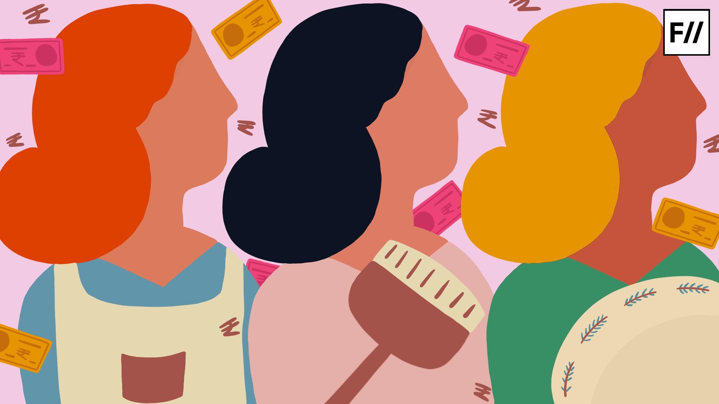 अपना रोज़गार खुद ढूंढने वाली महिलाओं पर दोहरे काम का भार आख़िर कब तक