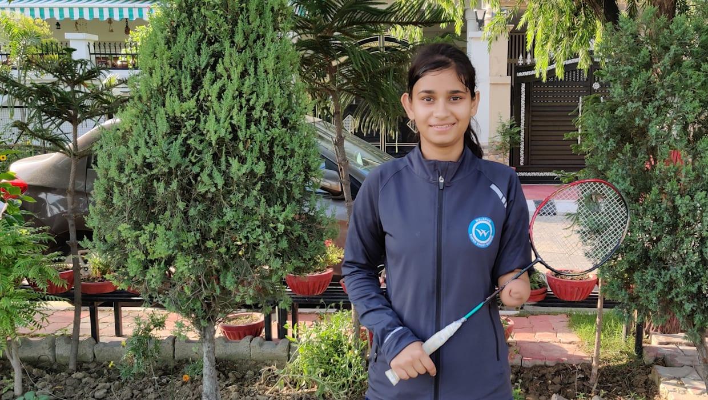 पलक कोहली: पैरालंपिक्स में शिरकत कर रही बैडमिंटन की सबसे युवा खिलाड़ी