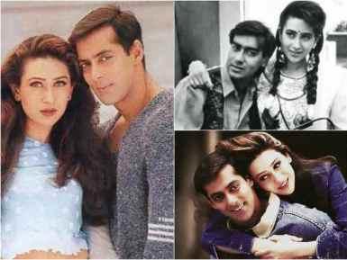 Karishma Kapoor old days beautiful pics - Hindi Filmibeat