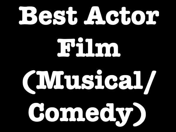 Best Actor Comedy/Musical