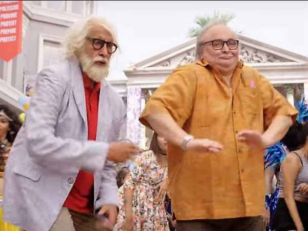 Amitabh Bachchan - 102 not out