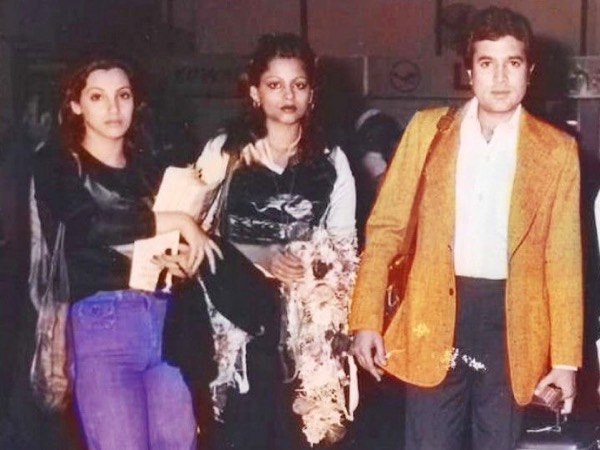 Unseen picture of Dimple Kapadia