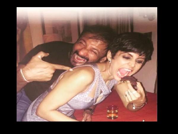 Raj Kaushal and Mandira Bedi's photo