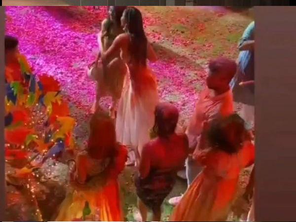 Holi also celebrated together