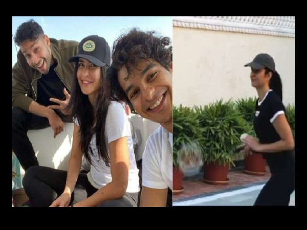 Phone Bhoot film on Katrina's shoulders