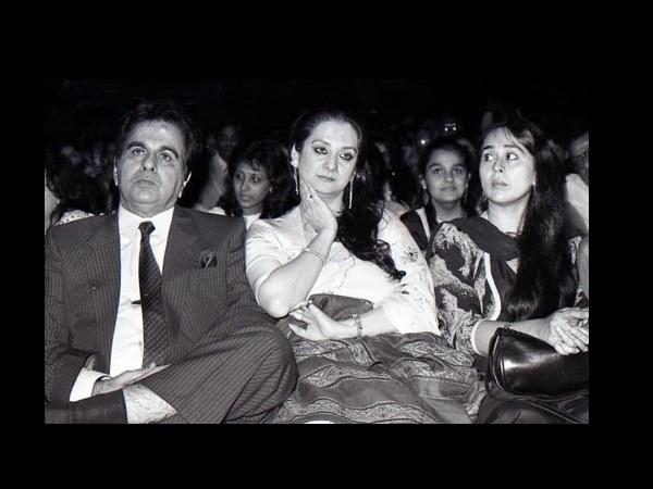 Dilip sahib said to Saira Banu - look at my white hair