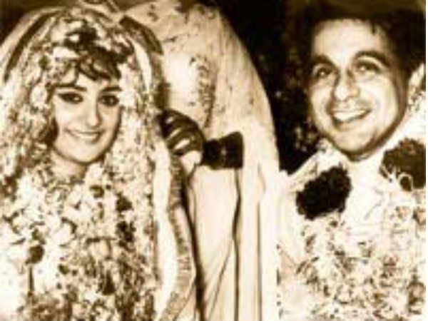 22 year old Saira Banu marries 44 year old Dilip Kumar