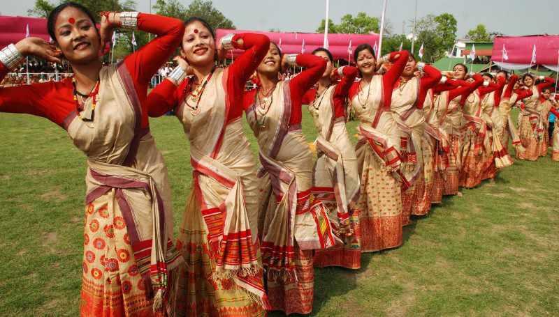 असम के लोक-नृत्य- GK in Hindi - सामान्य ज्ञान एवं करेंट अफेयर्स