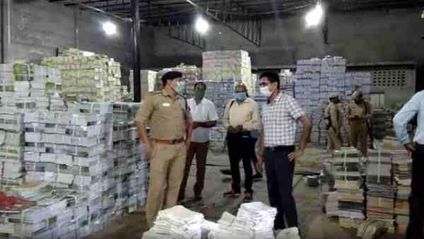 भाजपा नेता का रिश्तेदार बताया जा रहा है गोदाम मालिक